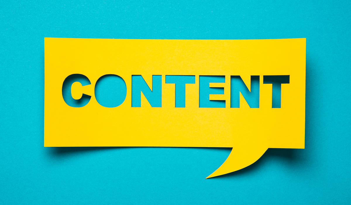 Why Content is Important Even When People Aren't Reading It